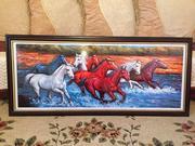 Картина с лошадьми НЕДОРОГО!