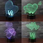 3D светильник в виде сердца супер подарок